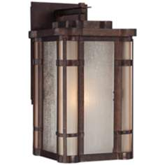 "Pendelton Falls 11 3/4"" High Bronze Outdoor Wall Light"