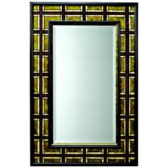 "Kichler Malcolm 36"" High Plaid Wall Mirror"