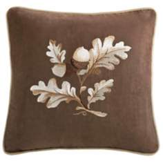 Woolrich River Run Embroidered Throw Pillow