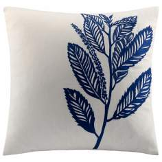 Woolrich Allegheny Forest Dark Blue Accent Pillow
