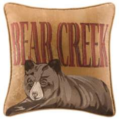 Woolrich Bear Creek Square Accent Pillow
