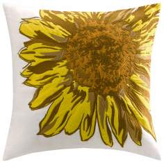 Woolrich Shady Grove Sunflower Accent Pillow