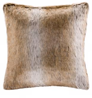 woolrich grand canyon faux fur accent pillow (x4454)