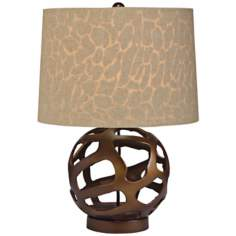 Kichler Baringo Russet Brown Accent Lamp