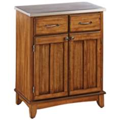Lexington Steel Top Cottage Oak Buffet