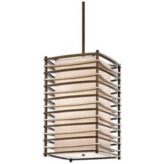 "Kichler Moxie 16"" Wide Cambridge Bronze Foyer Pendant"