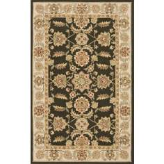 Veranda VR-02 Olive Green Indoor/Outdoor Area Rug