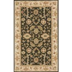 Veranda VR-03 Moss Green Indoor/Outdoor Area Rug