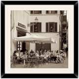 "Gelateria II 20 1/2"" Square Framed Photo Wall Art"