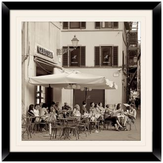 "Gelateria II 20 1/2"" Square Framed Photo Wall Art (X4802)"