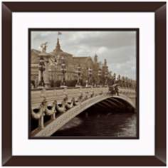"Paris I 20 1/2"" Square Framed Photo Wall Art"