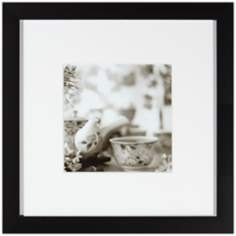 "Cafe XII 20 1/2"" Square Still Life Photo Wall Art"