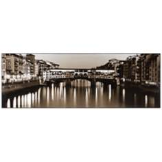 "Florencia 40"" Wide Laminated Box Photo Wall Art"