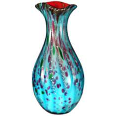 Dale Tiffany Lagood Hand-Blown Art Glass Vase