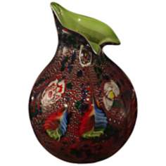 Dale Tiffany Mycroft Hand-Blown Art Glass Vase