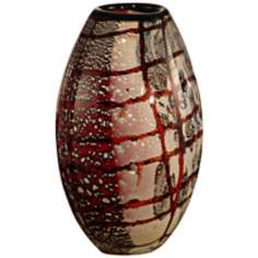 Dale Tiffany Windslow Hand-Blown Art Glass Vase