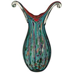 Dale Tiffany Morgan Hand-Blown Art Glass Vase