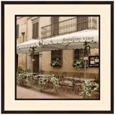 "European Cafe II 32"" Square Photo Wall Art"