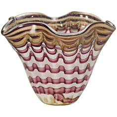 Dale Tiffany Napa Vino Hand-Blown Art Glass Bowl