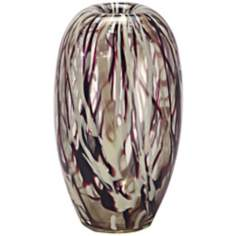 Dale Tiffany Roxbury Large Hand-Blown Art Glass Vase