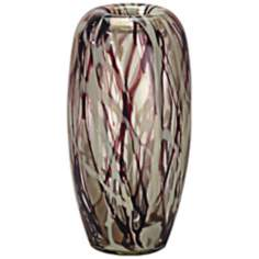 Dale Tiffany Roxbury Small Hand-Blown Art Glass Vase