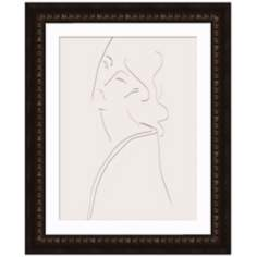 "Contemplation II 33"" High Framed Wall Art"