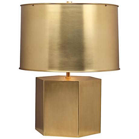 Mary McDonald Pythagoras Matte Brass Table Lamp