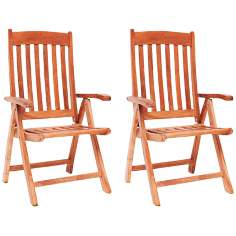 Amazonia Teak Belfast Outdoor Position Chairs