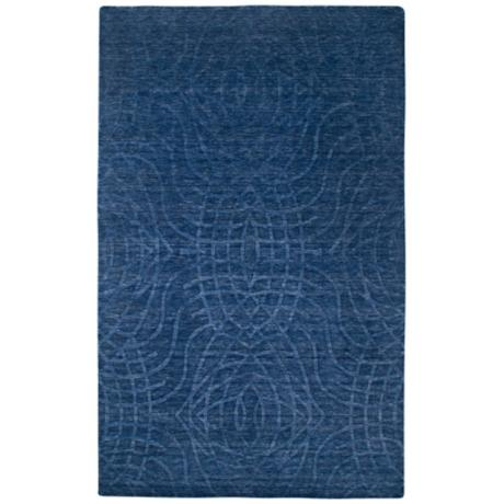 Uptown UP2439 Indigo Blue Area Rug