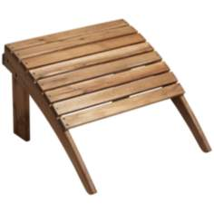 Monterey Natural Wood Outdoor Ottoman