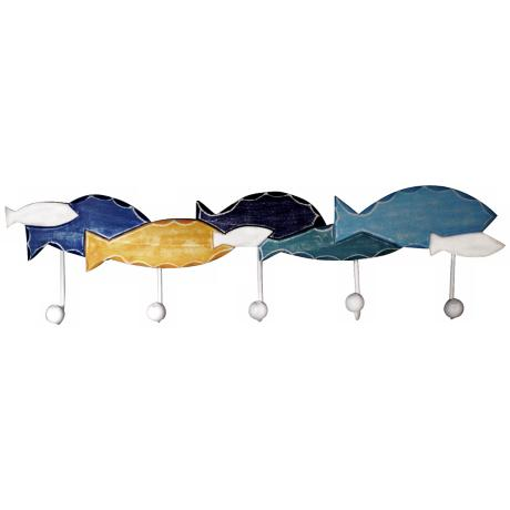 Judith Edwards Designs School of Fish Wall Hook