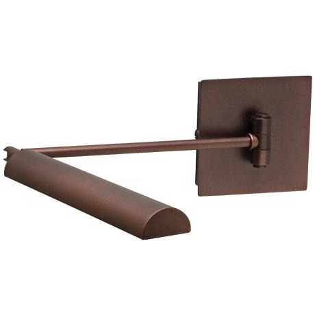 House of Troy Generation Bronze LED Swing Arm Wall Lamp