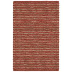 Classic Home Valencia Wool Cayenne Red Area Rug