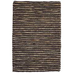 Classic Home Valencia Wool Black Pepper Area Rug