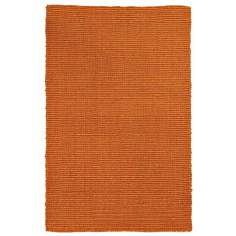 Classic Home Bermuda 4'x6' Sunset Orange Area Rug