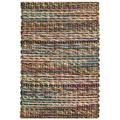 Classic Home Rope Braided Jute 4'x6' Metro Area Rug