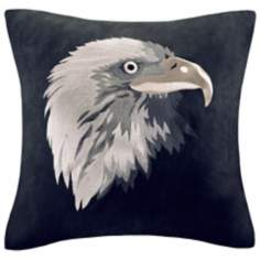 Woolrich Eagle Head Accent Pillow