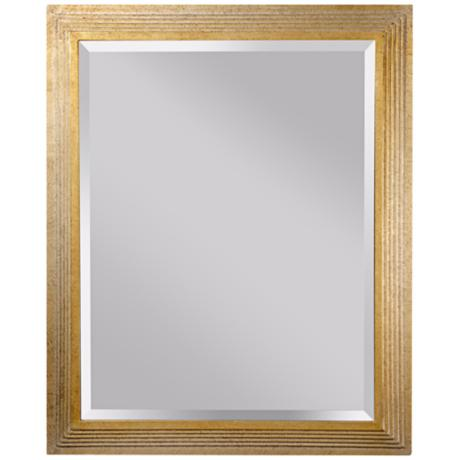 "Murray Feiss Darwin 32 3/4"" High Rectangular Wall Mirror"