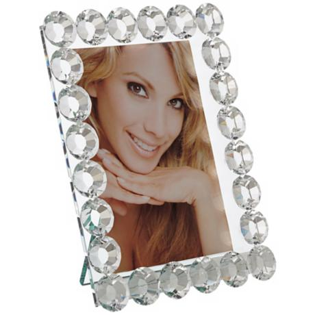 Jane Crystal 4x6 Photo Frame