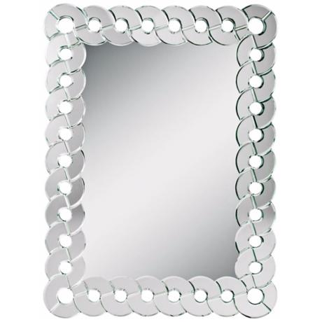 "Kichler Orbitz 40 1/2"" High Framed Wall Mirror"
