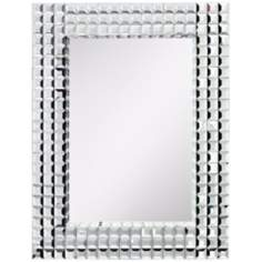 "Kichler Bling 38"" High Rectangular Wall Mirror"