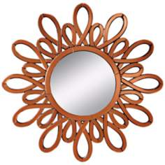 "Kichler Spice Mirror Frame 40"" Wide Wall Mirror"