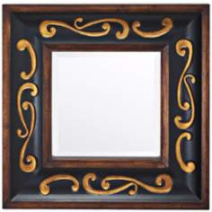 "Kichler Traditional Scroll 30"" Square Wall Mirror"