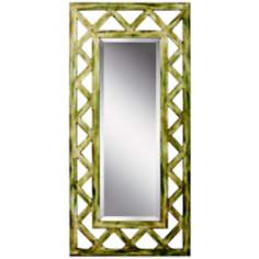 "Kichler Lattice 50"" High Rectangular Wall Mirror"
