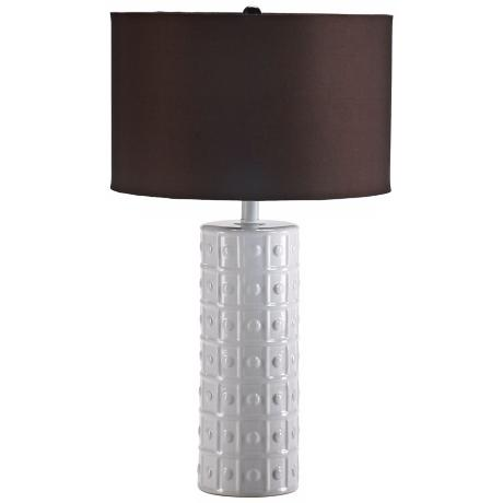 Acropolis White Table Lamp