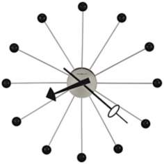 "Howard Miller 42"" Wide Retro Ball II Wall Clock"