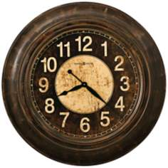"Howard Miller Bozeman 34"" Wide Gallery Wall Clock"
