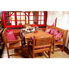 Amazonia 5-Piece Milano Rectangular Porto Dining Set