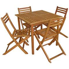 Amazonia Rio 5-Piece Outdoor Dining Set