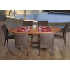 Amazonia 7-Piece Le Mans Dining Set